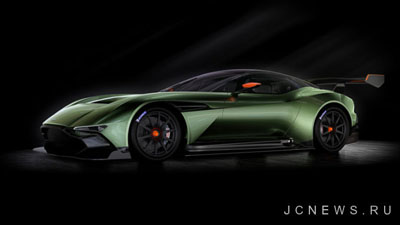 Aston Martin покажет новый Vulcan в Нью-Йорке